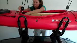 Kayak Hoist Ceiling Rack by Kayak Hoist Youtube