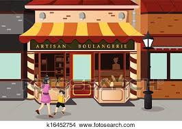 Clipart French bakery store Fotosearch Search Clip Art Illustration Murals Drawings