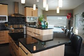 cuisine marron et blanc cuisine table cuisine bois avec blanc couleur table cuisine bois