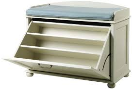 get rid of mess in the entryway buy a shoe cubby bench shoe