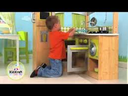 Kidkraft Grand Gourmet Corner Kitchen Play Set by Kidkraft Limited Edition Natural Lime Corner Kitchen Youtube