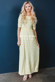 yellow white maxi dress best modest online boutique cute