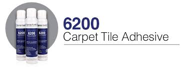 carpet tile adhesive spray lock premium eco adhesives