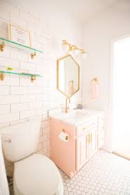 Modern Glam Blush Girls Bathroom Design | HOME | Pinterest | Baños ... Bathroom Cute Ideas Awesome Spa For Shower Green Teen Decor Bclsystrokes Closet 62 Design Vintage Girl Jim Builds A Pink And Black Teenage Girls With Big Rooms 16 Room 60 New Gallery 6s8p Home Boys Cool Travel Theme Bathroom Bathrooms Sets Boy Talentneeds Decorating And Nz Elegant White Beautiful Exceptional Interesting
