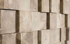 Panel decorativo de madera de pared 3D JUNGLE WONDERWALL