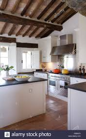 100 Rustic Ceiling Beams Modern Italian Country Kitchen With Rustic Wooden Ceiling Beams