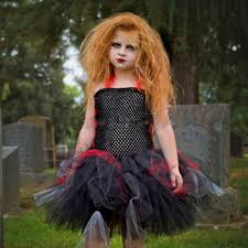 Scary Characters For Halloween by Aliexpress Com Buy Zombie Tutu Dress Black Red Halloween Costume