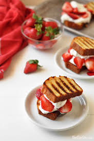 Grilled Pound Cake Strawberry Shortcake The Chic Site