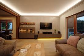 indirekte beleuchtung wohnzimmer wand indirekte