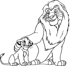 Bold Design Ideas Lion Coloring Pages Printable King