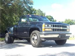 100 Dually Truck For Sale 1988 Chevrolet Silverado 3500 Pickup For ClassicCars