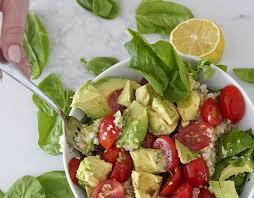 Sydne Style Shares Easy Lunch Ideas With Quinoa Avocado Salad