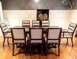 Mahogany Dining Room Set Photo 4 Of 7 Custom Art Table With Chairs Modern