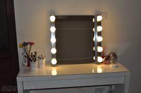 Diy Vanity Desk With Lights by Bedroom Amusing Chabz Diy Vanity Mirror And Lights Photo Of On