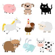Niños Juguetes 6 Unids Lindo Creativo Granja Conjunto Modelo Animal