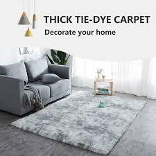 moderne wohnzimmer dekorative teppiche gradienten farbe