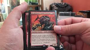 mtg modern deck krenko mono red goblin rush semi competitive