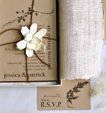 Rustic Wedding Invitation Kits Party Decoration