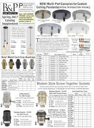 Decorative Metal Lamp Banding by Wholesale Catalogs B U0026p Lamp Supply