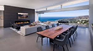 Dinning RoomsMinimalist Home With Minimalist Live Edge Dining Table Also Modern Chairs And