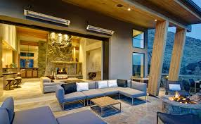 Lynx Eave Mounted Patio Heater by Infratech Heaters Usa Lifestyle Gallery