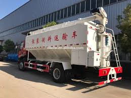100 Feed Truck Dongfeng 15cbm Bulk Delivery For Sale Bulk