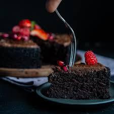 schneller schokoladenkuchen vegan ohne mixer 1 schüssel