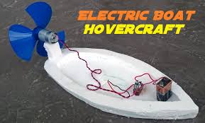 how to make an electric boat homemade hovercraft youtube
