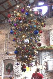 Contemporary Tall Skinny Christmas Tree Inspired On Eastern European Tradition Of Upside Down Trees