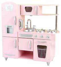 Kidkraft Red Retro Kitchen Pink Vintage Contemporary Kids Toys And Games