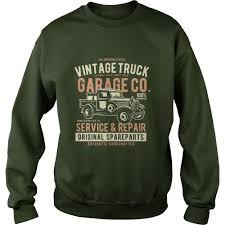 100 Vintage Truck Parts Classic Service Repair Garage TShirt Gift