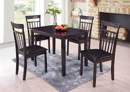 Espresso Side Chair Set Of 2Furniture World Distributors