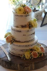 Semi Naked Rustic Cakes