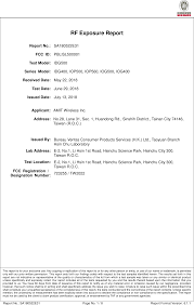 100 Amit Inc ISL500001 IIoT 4G RF Exposure Info 1 Advance Multimedia