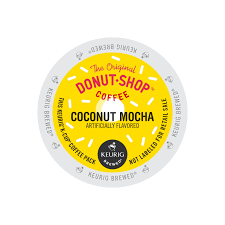 Dunkin Donuts Pumpkin K Cups by The Original Donut Shop Coconut Mocha K Cup Pods 24ct