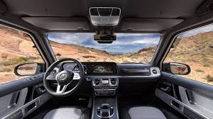 Check Out The Interior of The 2019 Mercedes G Class