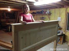 Ana White Farmhouse Headboard by Bed Frame Blueprints Free Farmhouse Bed King Do It Yourself