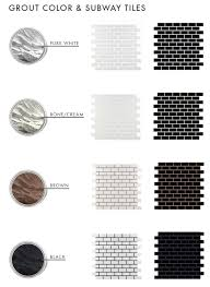 Snapstone Tile Home Depot by The Difference Grout Color Can Make To Your Tiles Emily Henderson
