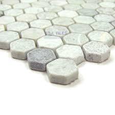 hexagon tiles marble mosaic tile hexagon ming green