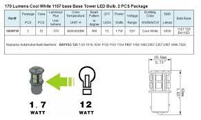 green longlife 5050118 1157 ba15d base tower rv led light bulb