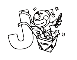 Letter J Coloring Pages For Preschool