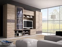 wohnwand grenada design tv lowboard vitrine wohnzimmer anbauwand led neu