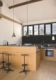 cuisine americaine avec bar cuisine ouverte avec ilot table cheap ilot central table superior