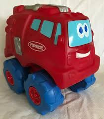 99 Chuck The Talking Truck 2002 Playskool Tonka And Friends Squishy Big Red Fire