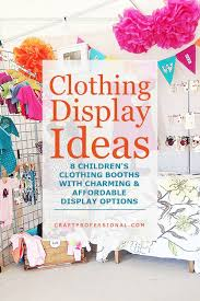 Childrens Clothing Display Ideas
