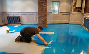 laying tiles on concrete floor stunning floor for diy steps for