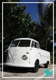 White Vw Truck • Waterfront Properties Blog