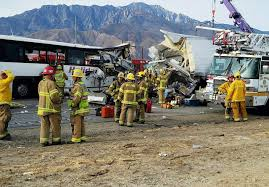 California Bus Crash: At Least 13 Dead | Time All Escape Unharmed After Fiery Semi Crash On I696 At Woodward Truck Caused By Foggy Weather On Highway 41 In Kings 6 Cars Crash Juring 8 Tristate Tollway Near Gurnee Crashes Accidents Youtube Leelanau County Semitruck Caught Camera Northern Police Driver Falls Asleep And Crashes Dumps 46000 Pounds Of Lumber Wolf Creek Pass Cause Train Vs Semi Truck Stevens Point Still Under Truck Crash Compilation Semi Trucks Driving Fails Car Crashes In Sheriff Driver Says Brakes Failed Before Fatal Wis
