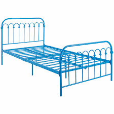 Bed Frames In Walmart by 9 By Novogratz Bright Pop Twin Metal Bed Multiple Colors