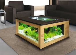 طاولة حوض السمك القرار الإبداعي لمنزلك